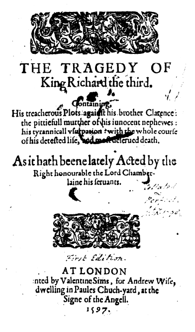 richard iii a tragedy essay The character of richard iii the tragedy of othello: summary go to basics of writing essays in 11th grade.