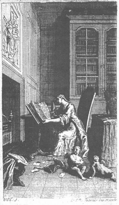 The Ladies Library, vol. 1 (London, 1714).